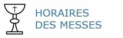 horaire messes